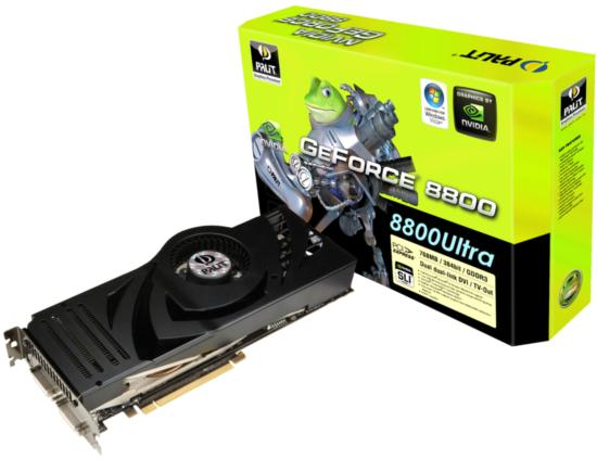 Palit GeForce 8800 Ultra: ещё один чемпион