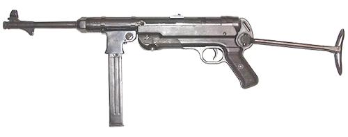 Оружие времён ВОВ: МР-38 и МР-40 (Германия)