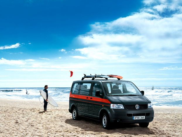 VW Multivan Beach / California