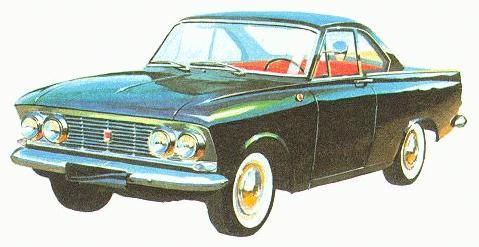 """Москвич - 408 Турист Кабриолет"", 1964 года"