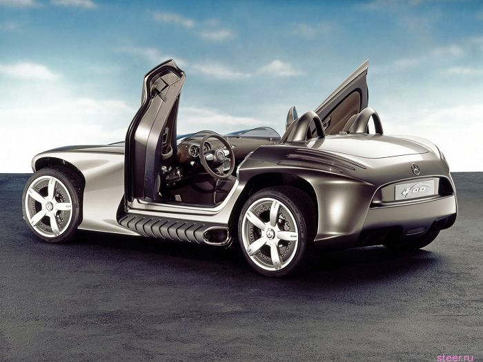 2002 Mercedes-Benz F400 Carving Concept