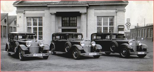 Der grosse Mercedes.