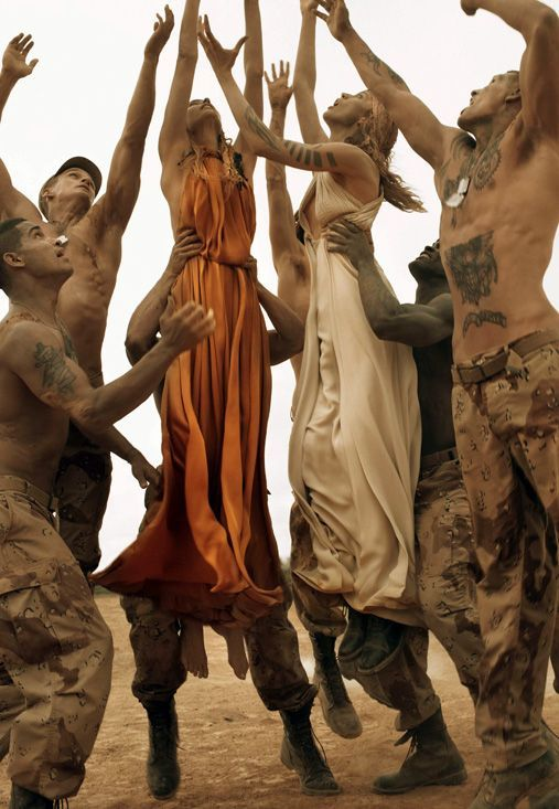 Make Love Not War - Vogue Italia
