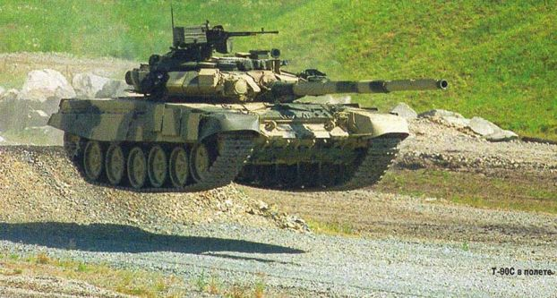 Т-90 против Abrams