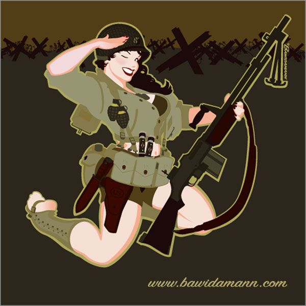 Military Pin-up