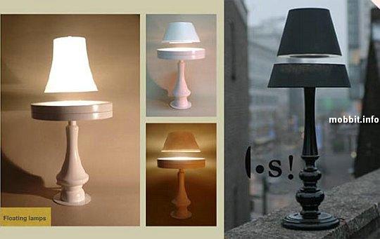 Лампы, парящие в воздухе