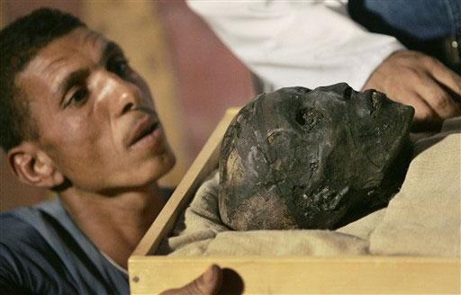 Впервые за 3 тысячи лет лицо Тутанхамона открыто широкой публике