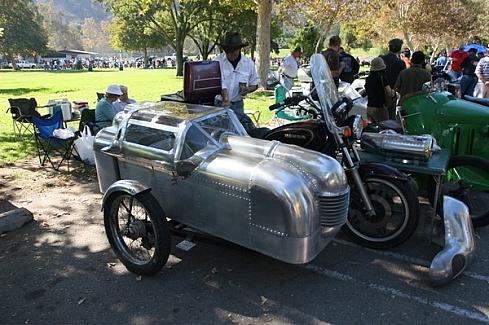 Тюнинг колясок для мотоцикла