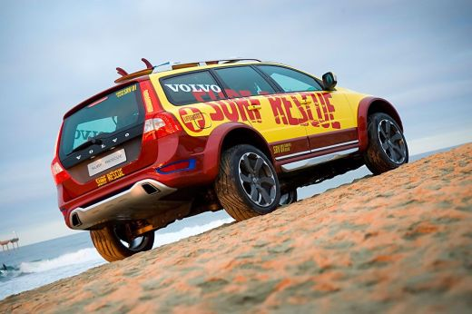 Концепт Volvo XC 70 Surf Rescue
