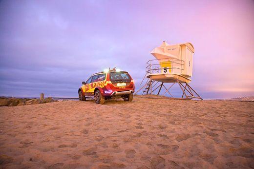Концепт Volvo XC 70 Surf Rescue