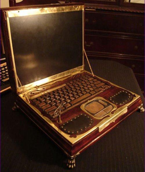 Потрясающий ноутбук в стиле ретро