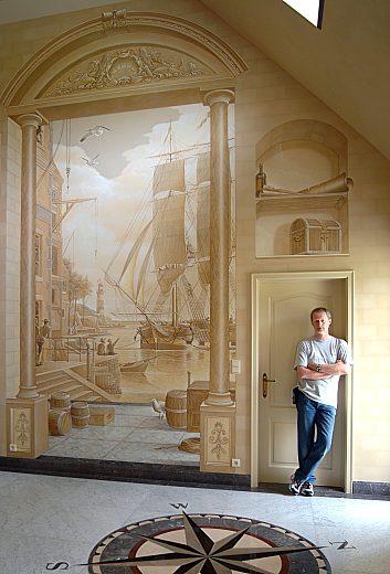 Живопись на стенах