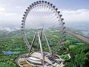 Китайцы строят самое большое в мире колесо обозрения