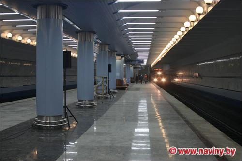 Новые станции метро готовят к открытию