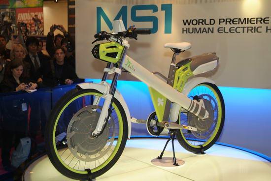 Гибридный мотоцикл Matra MS1