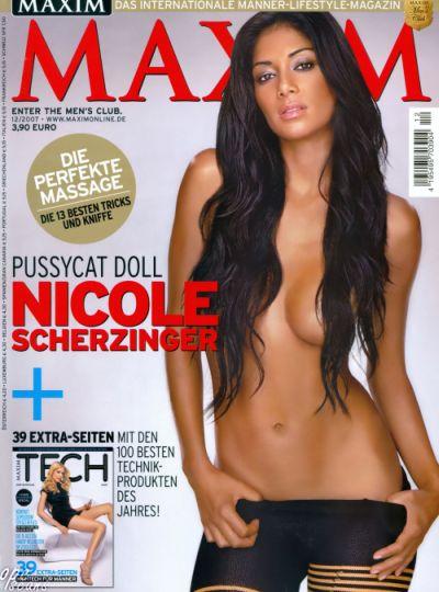 Nicole Scherzinger — Maxim Germany December 2007