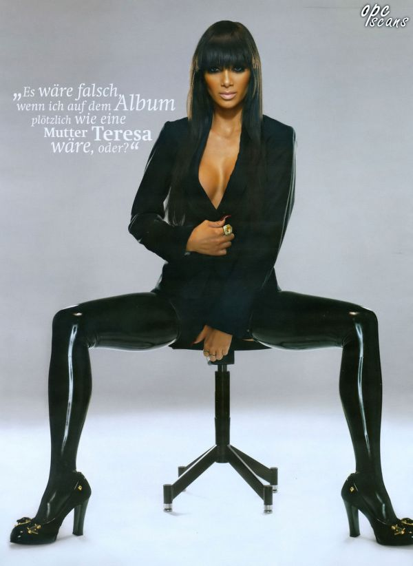 Nicole Scherzinger — Maxim Germany December 2007