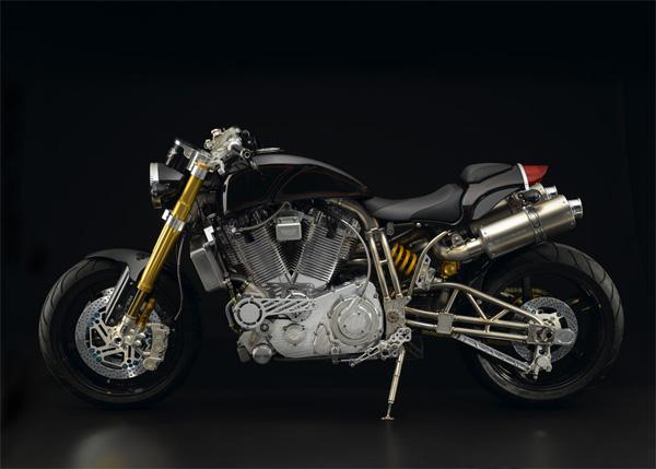 Ecosse Heretic Titanium — самый дорогой в мире мотоцикл