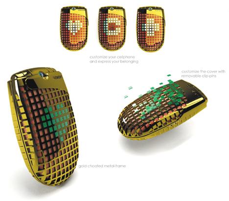 Эксклюзивный мобильник от дизайнера