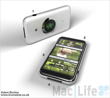 iEye - концептуальный фотоаппарат для Apple
