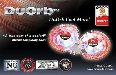 Двухвентиляторный кулер Thermaltake DuOrb для видеокарт
