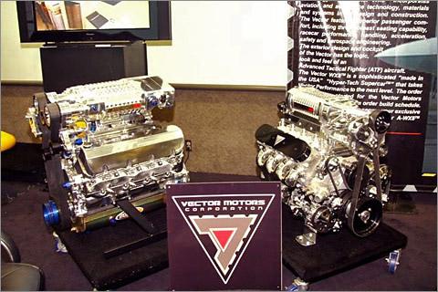 Vector WX-8 — новый претендент на рекорд скорости