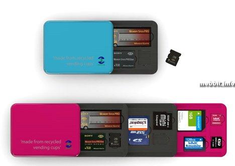 Футляр для карт памяти – полезный концепт