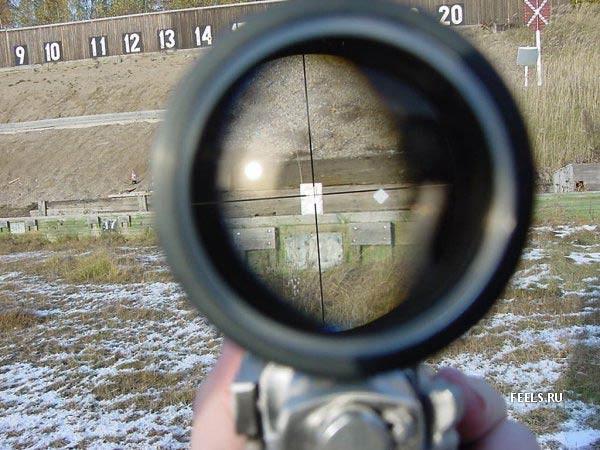 Стрельба по жесткому диску...