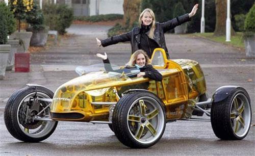 Самый страшный автомобиль выставили в Германии