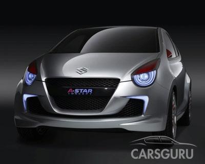 Suzuki A-concept - Индия под прицелом