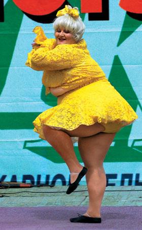 Довольная женщина с формами лучше, чем остервенелая плоская доска!