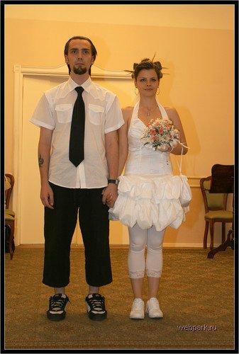Атипичные свадебные наряды
