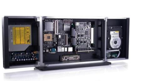 Omaura TT, концепт корпуса нового форм-фактора для мультимедийных ПК