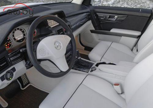 Mercedes представил новый внедорожник GLK. ФОТО