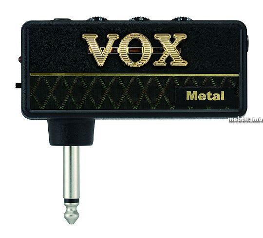 amPlug — самый маленький гитарный усилитель в мире от VOX