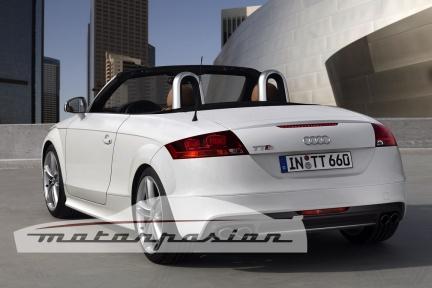 Audi TT-S первое официальное фото