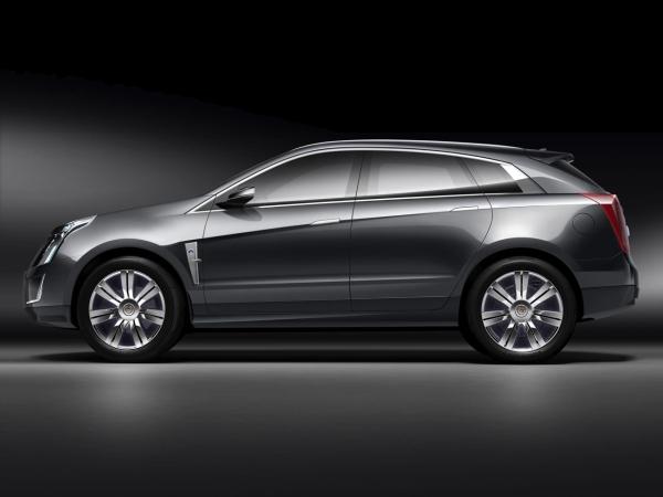 Премьера концепта кроссовера Cadillac Provoq
