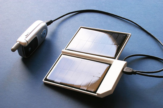 Солнечная энергия для мобильных устройств.