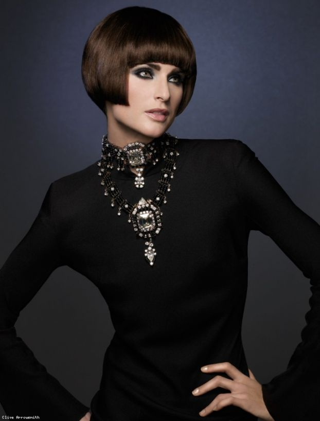 Lady in... black
