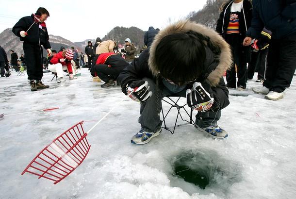 Рыбалка по Южно-Корейски
