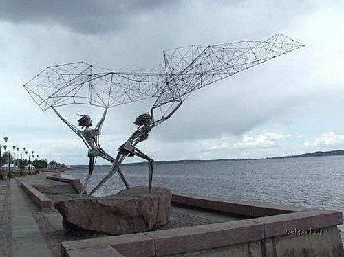 Самые необычные скульптуры и статуи