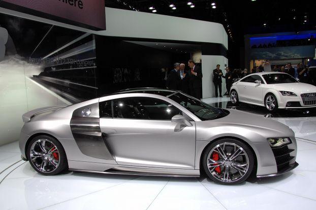 NAIAS 2008: Audi R8 V12 TDi Concept