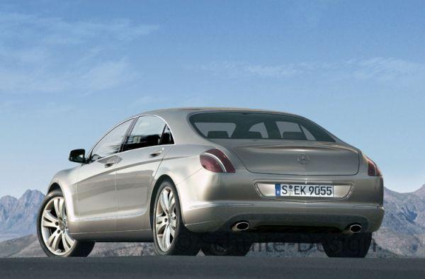 Mercedes CL Cabrio и будущий S-Class