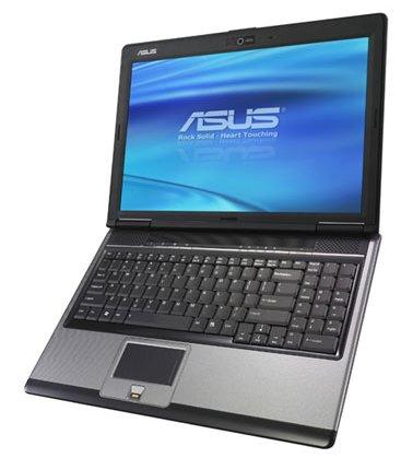 ASUS выпускает свой первый ноутбук с видеокартой GeForce 9500M GS