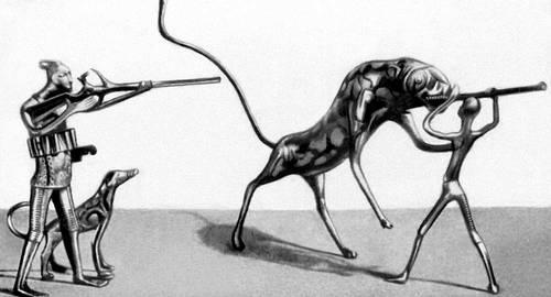 10 необычных охотничьих животных