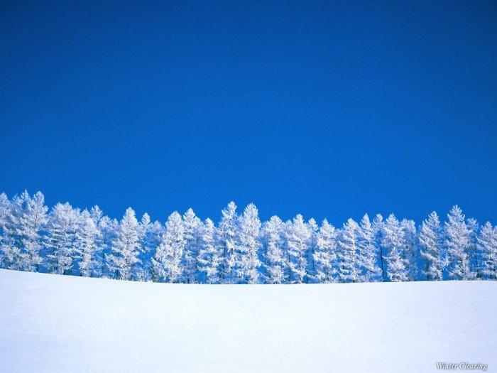 А вот у людей зима как зима!