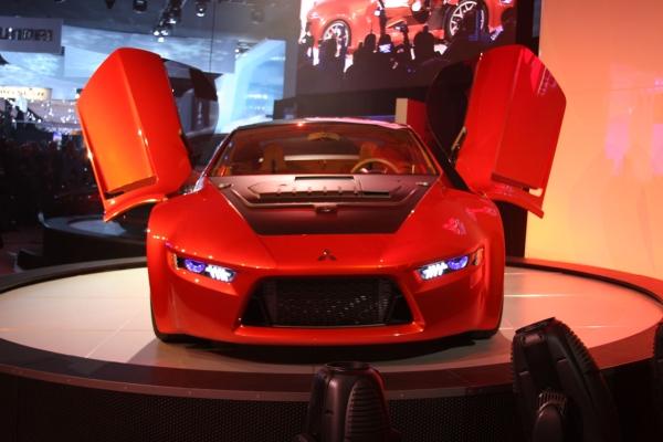 Спортивный концепт Mitsubishi Concept-RA