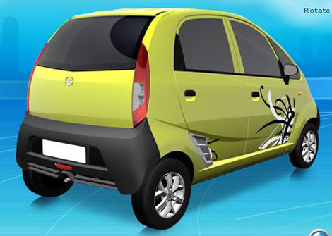 Дешевка-2008 Tata Nano в деталях