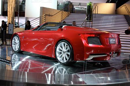 Авто Шоу в Детройте: прототип Lexus LF-A Roadster