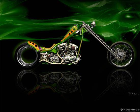 Мажорный мотоцикл